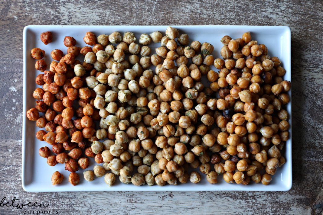 Two-Ingredient Side Dishes: Roasted Chickpeas. These are the side dishes you'll make the most in the least amount of time
