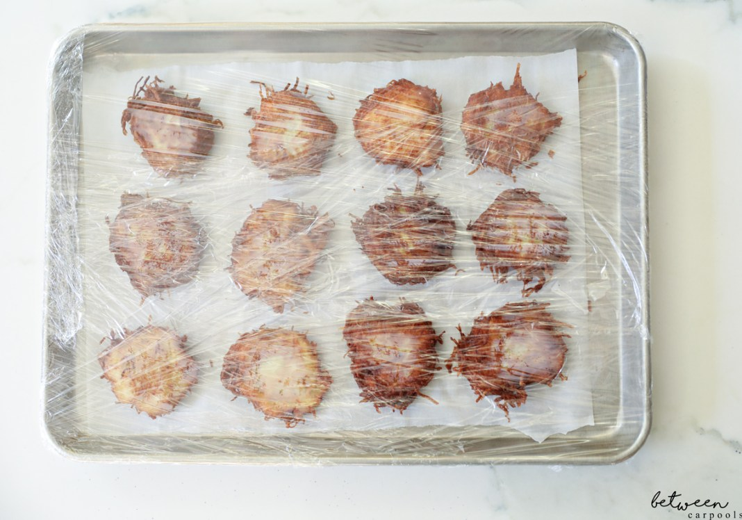How to Freeze Potato Latkes so You Can Prep Ahead (Yes, It's Possible!) Don't want to be standing over the frying pan when you should be enjoying Chanukah nights with family and guests? You can prep latkes earlier in the day or in advance and freeze. Here's how.