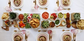 How to Host a Chic No-Cook (Almost) Chanukah Party. Chanukah? It's the best excuse to get the family together, around one (beautifully set) table. And it doesn't have to be a lot of work to prep either.