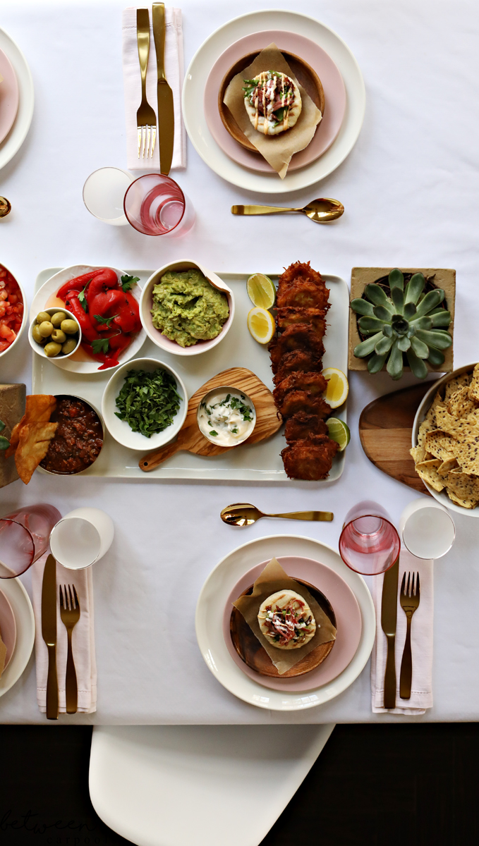 How to Host a Chic No-Cook (Almost) Hanukkah Party. Chanukah? It's the best excuse to get the family together, around one (beautifully set) table. And it doesn't have to be a lot of work to prep either.