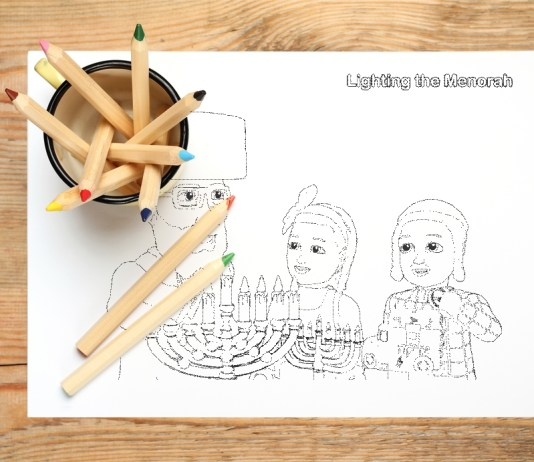 Shpielman Free Download Chanukah Coloring pages. Hanukkah Coloring Pages