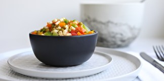 The Easy-to-Prep Salad the Whole Family Will Eat. Tri Color Pepper Salad.