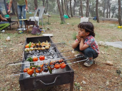 Faris from Gaza Camp