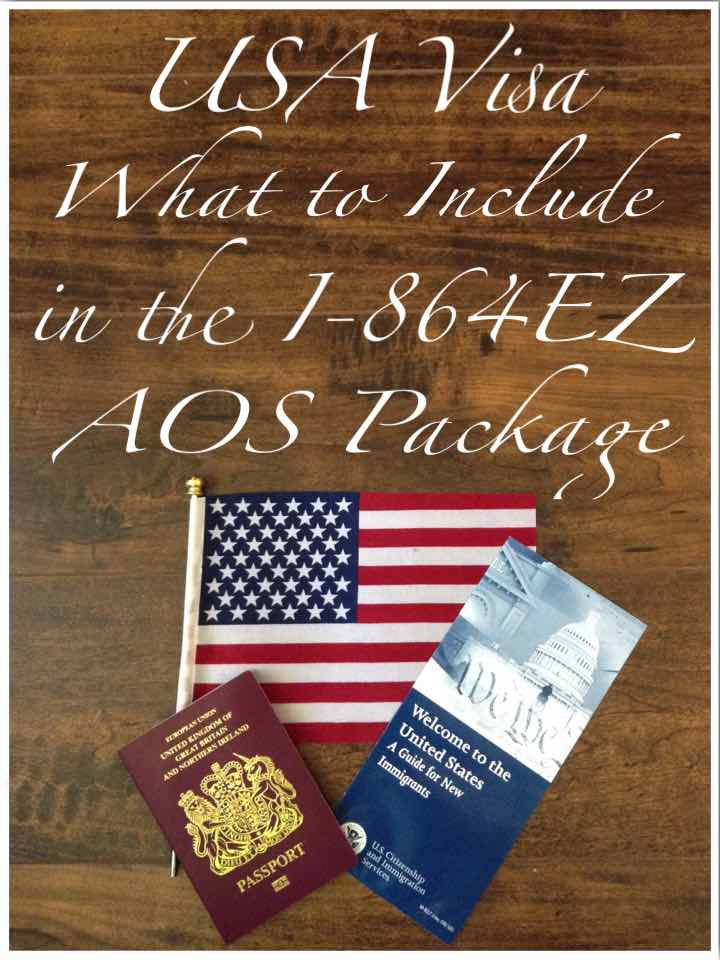 What to Include in the i864ez Affidavit of Support Package