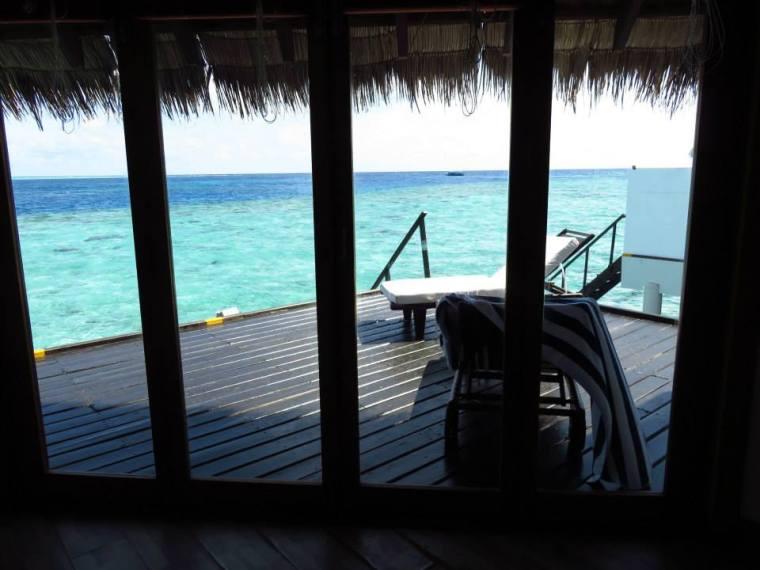 Maldives Water Bungalow Bedroom