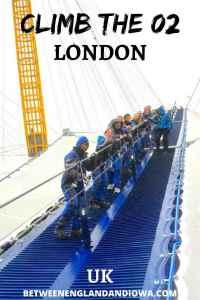 Climb the O2 Arena: Up At The O2 London UK