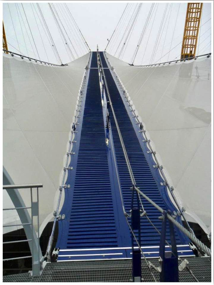 Walk over the O2 roof London