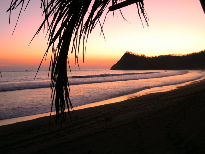 Costa Rice Sunset