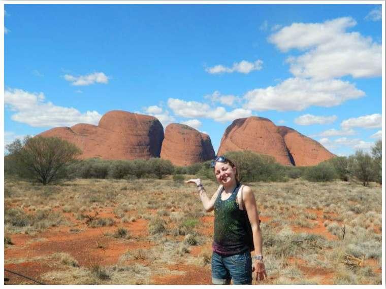 Kata Tjuta 44km from Uluru Australia