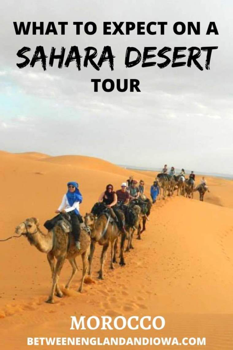What to expect on an overnight camping Sahara Desert tour in Morocco