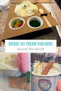 Unique Ice Cream Parlours Around The World