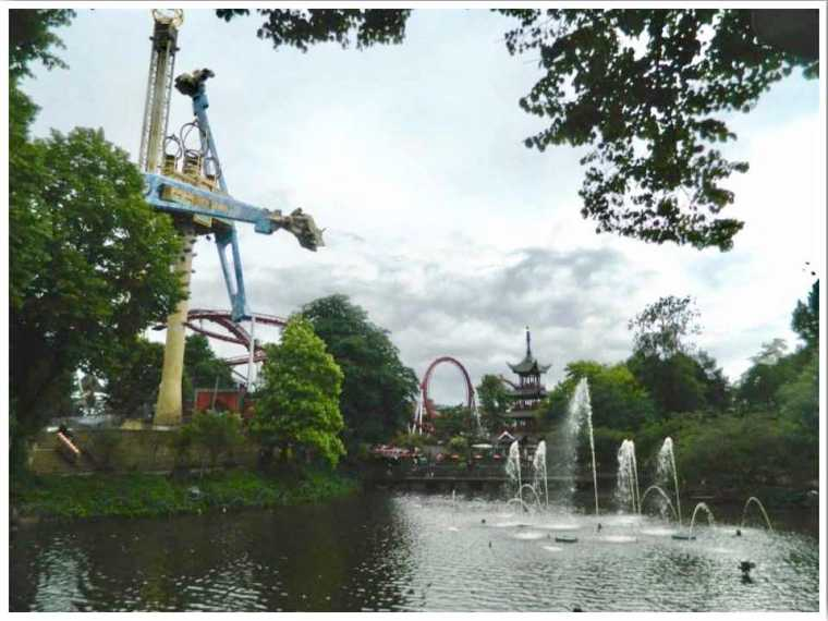 Tivoli Amusement Park Copenhagen