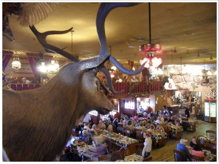 Route 66 The Big Texan 72oz steak dinner Amarillo