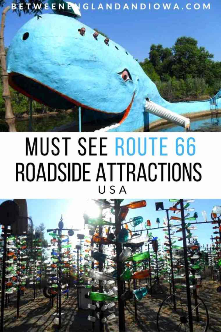 Route 66 Roadside Attractions in the USA
