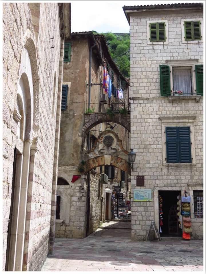 Kotor City Walls Entrance
