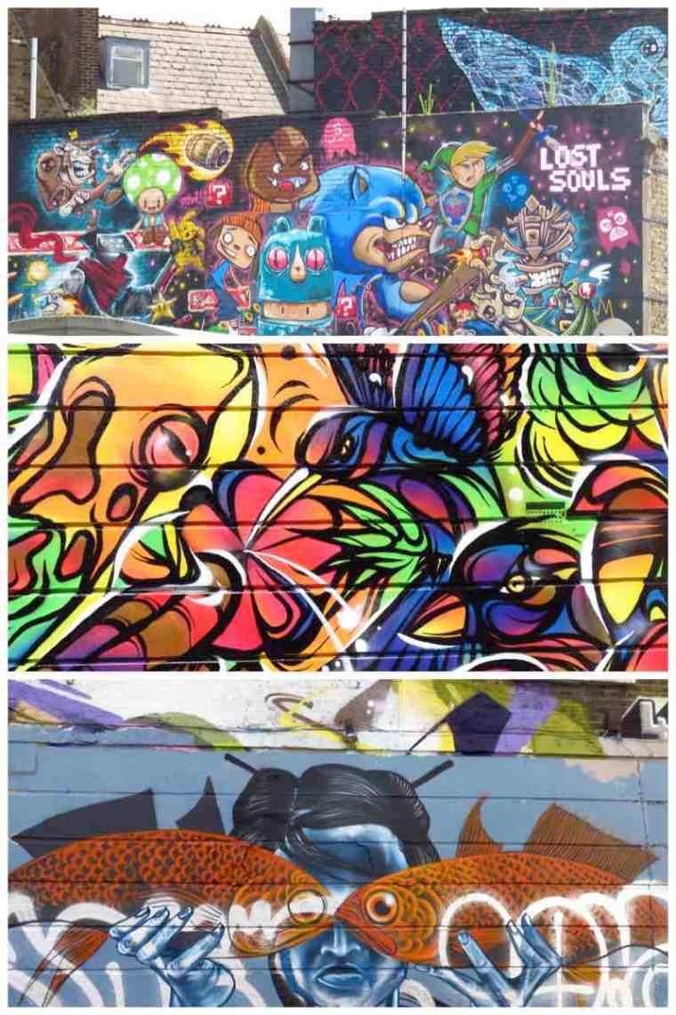 Camden Street Art Buck Street