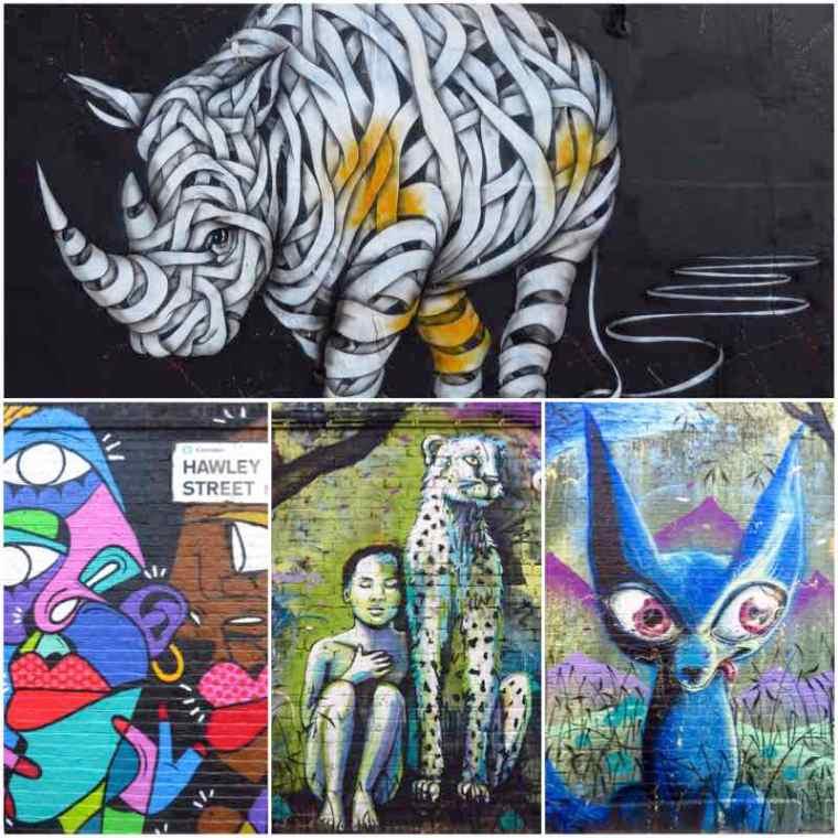 Camden Street Art Hawley Street