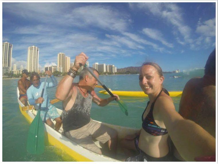 Outrigger Canoe Waikiki Beach
