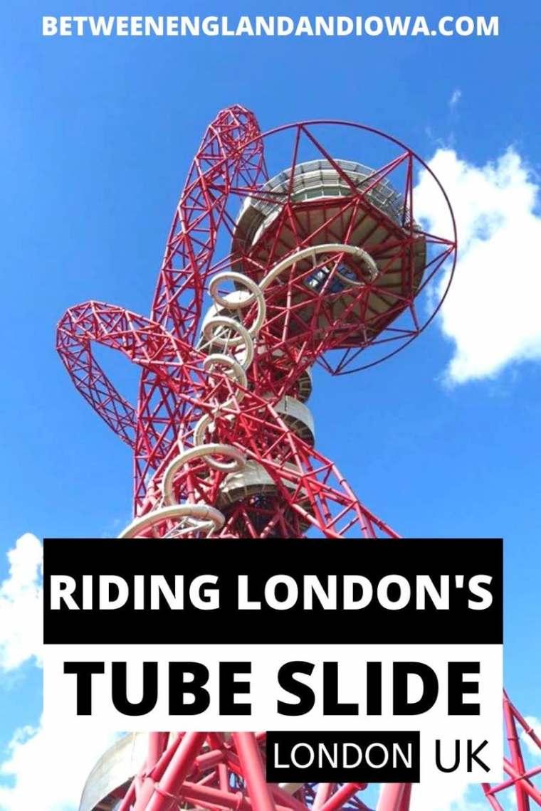 London Orbit Tube Slide