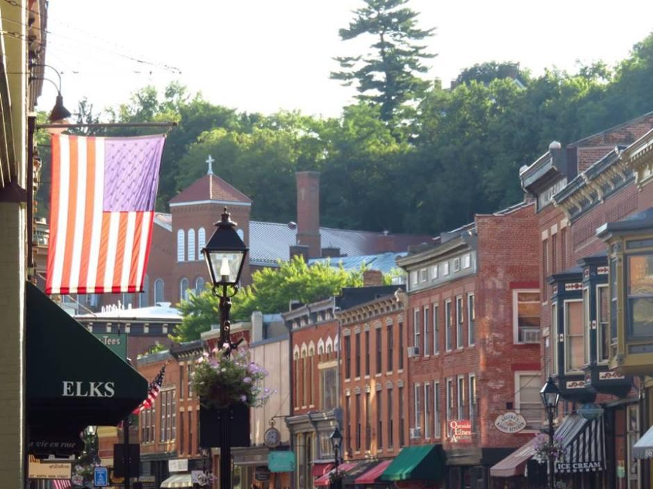Main Street Galena Illinois