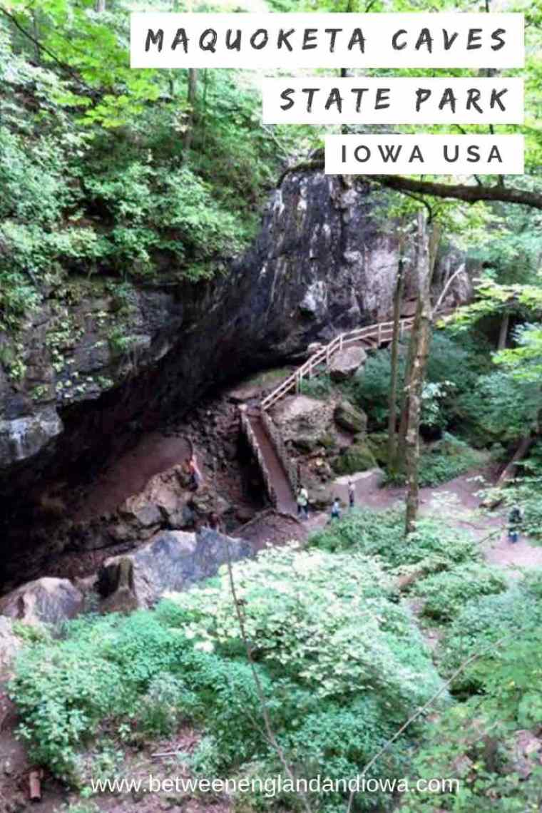 Tips for visiting Maquoketa Caves State Park in Iowa USA