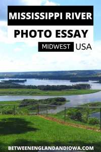 Mississippi River Views in the Midwest USA