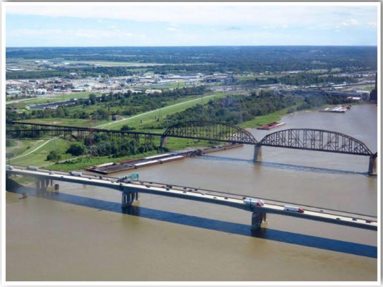 Mississippi River St Louis