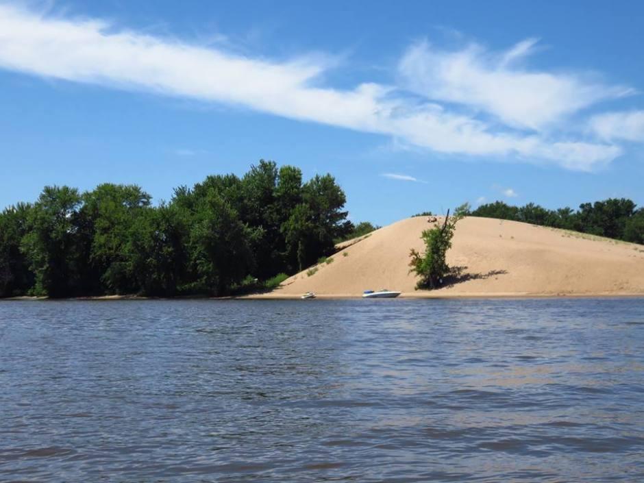 Mississippi River Sandbars Iowa