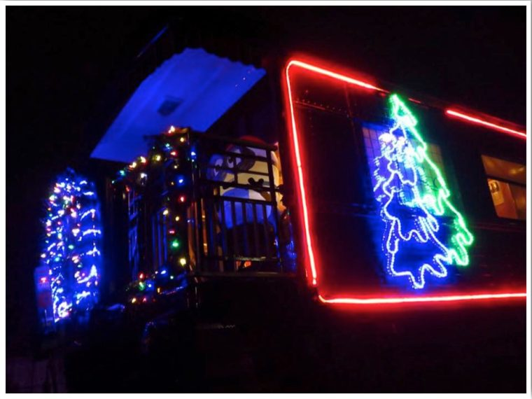 Canadian Pacific Holiday Train in Dubuque Iowa