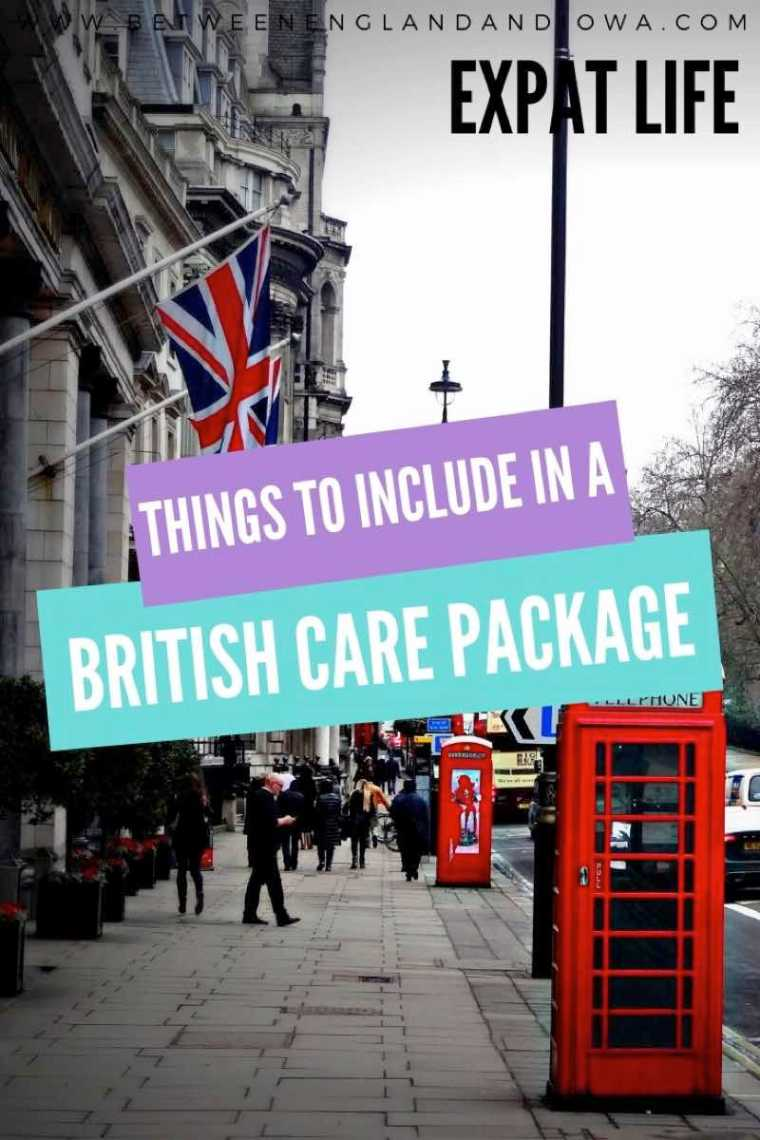 Things to include in a British Care Package
