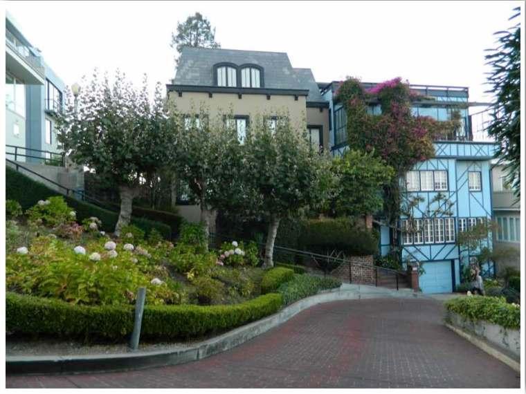 San Francisco Wiggly Street - Lombard Street