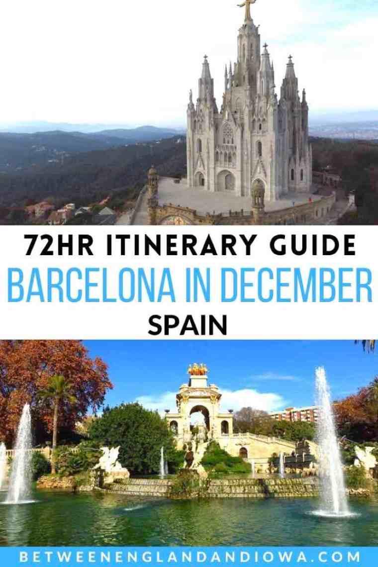 Barcelona in December Travel Guide