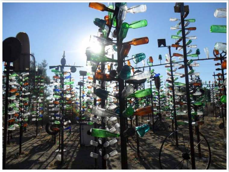 Bottle Tree Ranch Helendale California Route 66