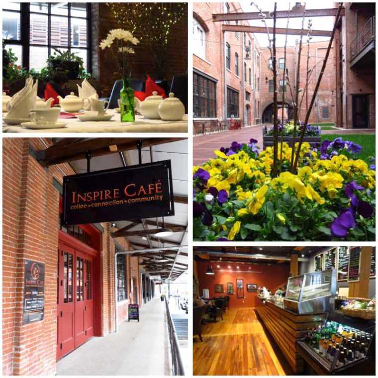 Inspire Cafe Dubuque Iowa
