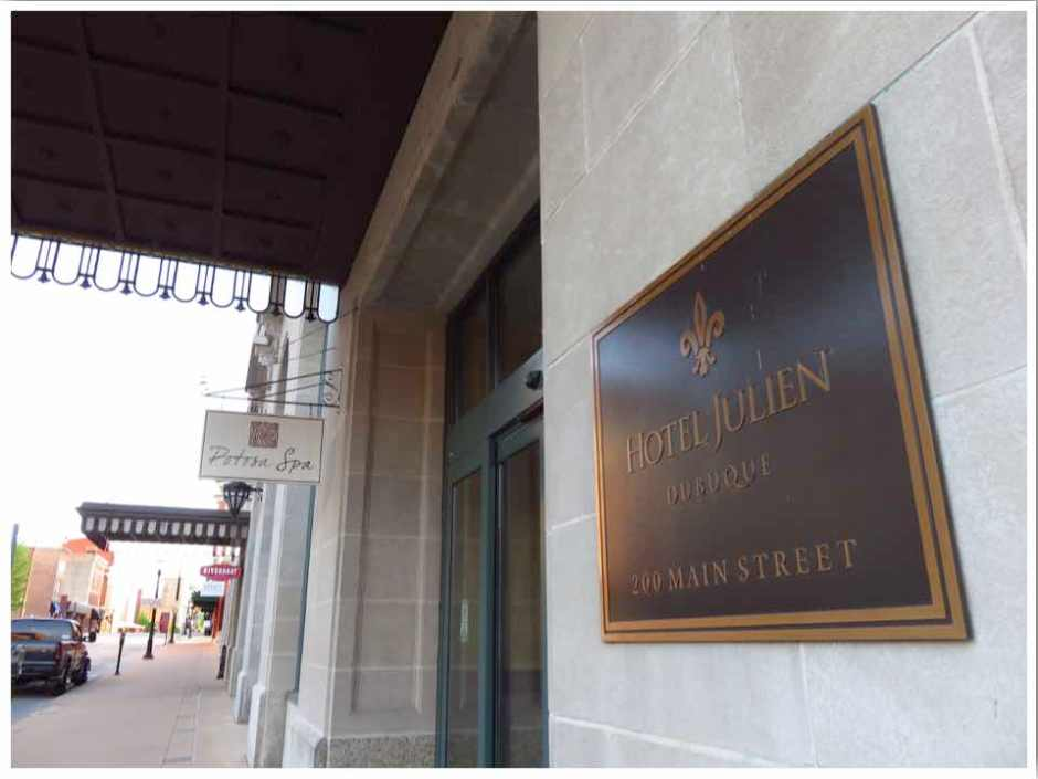 A Luxury Stay at the Hotel Julien Dubuque, Iowa