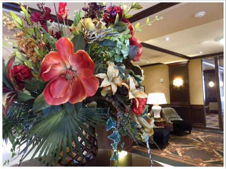 Hotel Julien Dubuque Lobby Decor