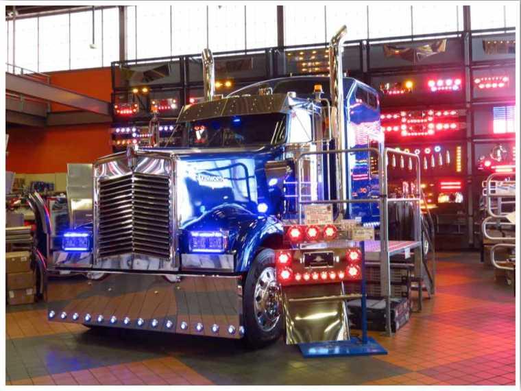 Iowa 80 Super Truck Showroom