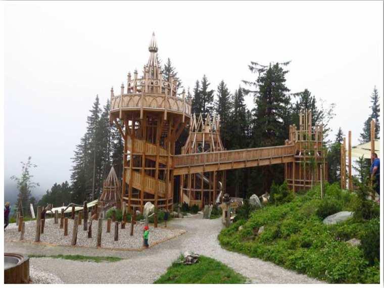 Mayrhofen Fichtenschloss playground