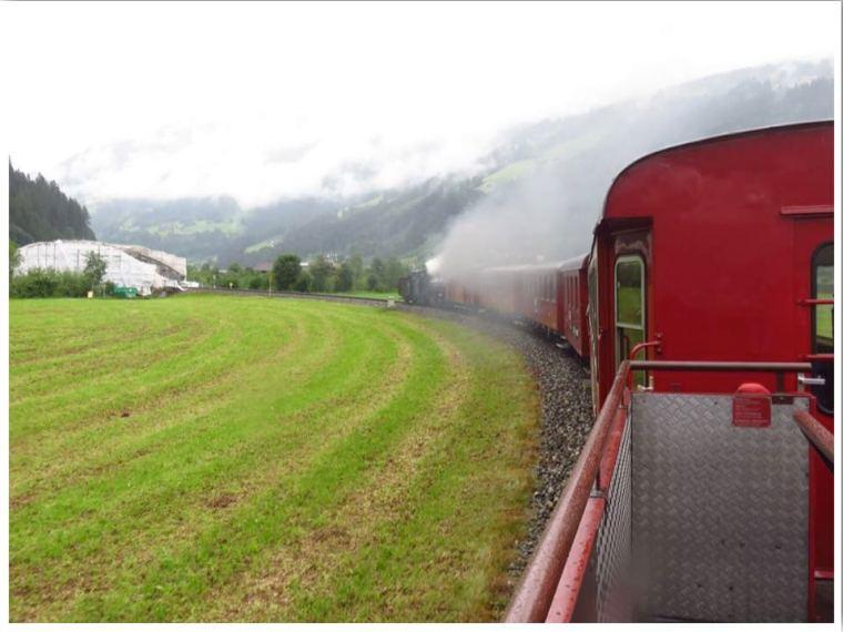 Mayrhofen Steam Train