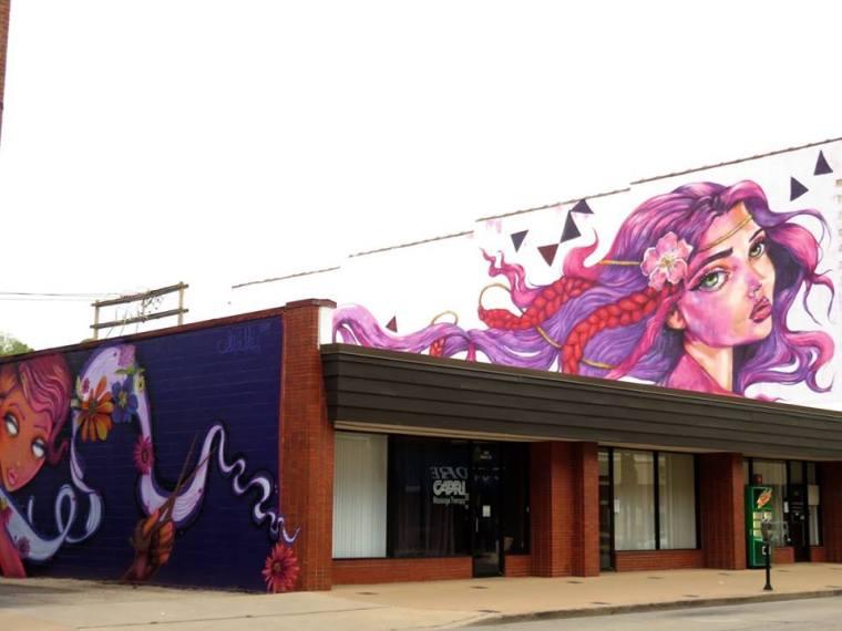 Murals in Dubuque