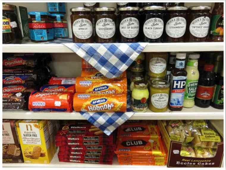British Food Mineral Point Wisconsin