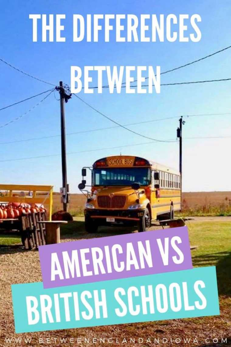 UK vs USA School