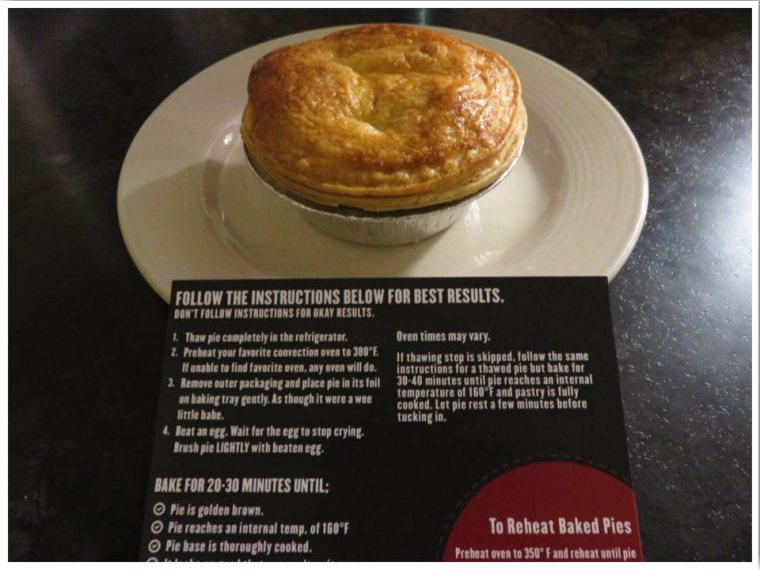 How to cook Pouch Pies