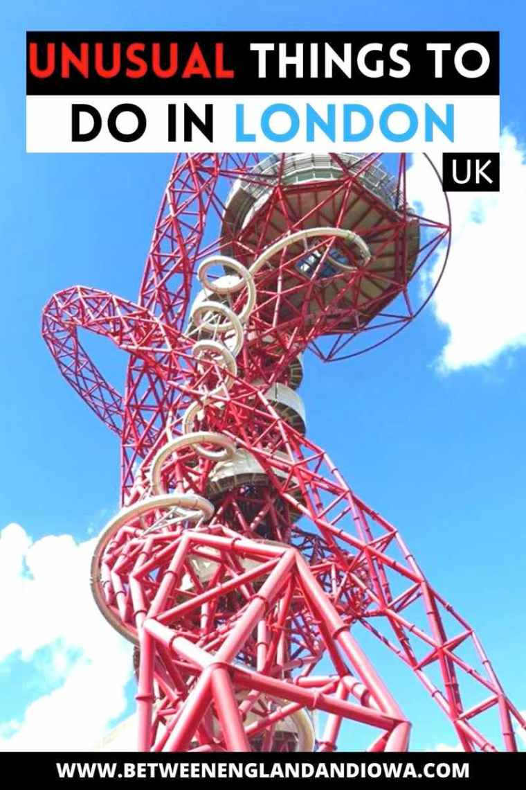 Unusual Things To Do In London UK