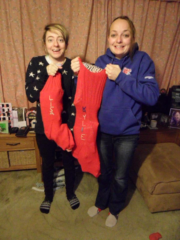 British Christmas Traditions Stockings