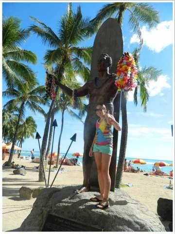 Oahu Waikiki Beach USA