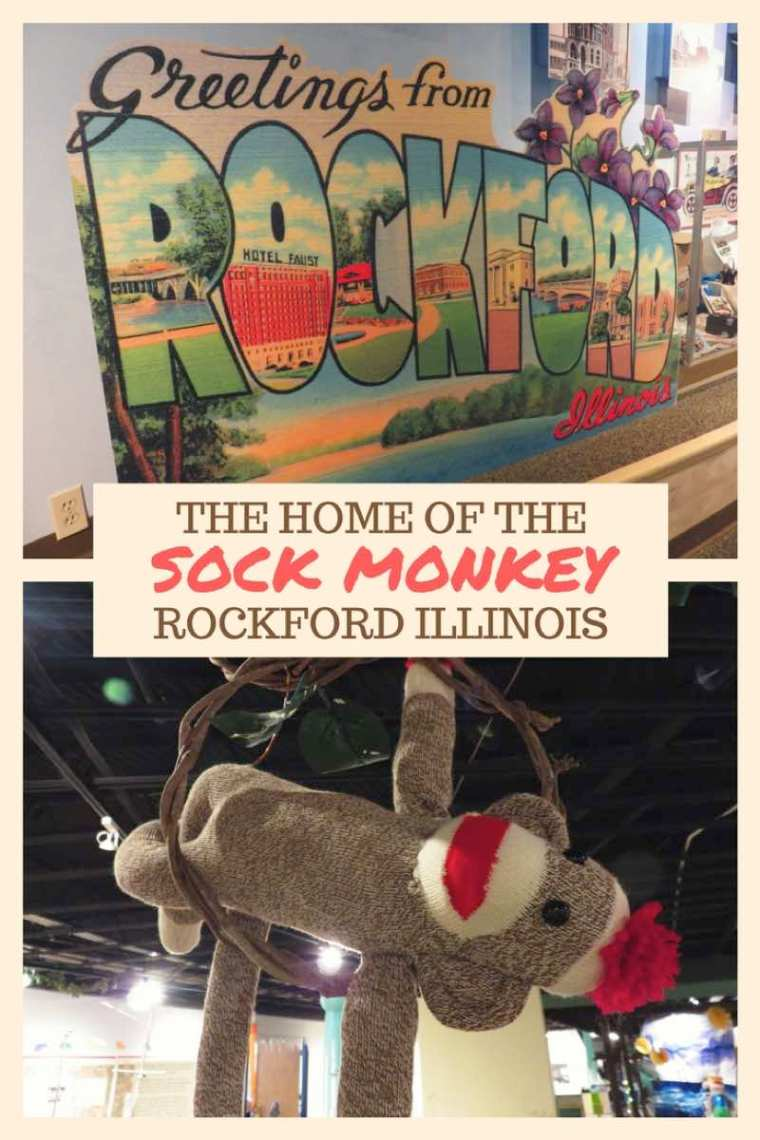 The Home of the Sock Monkey Rockford Illinois - Made In The Midwest