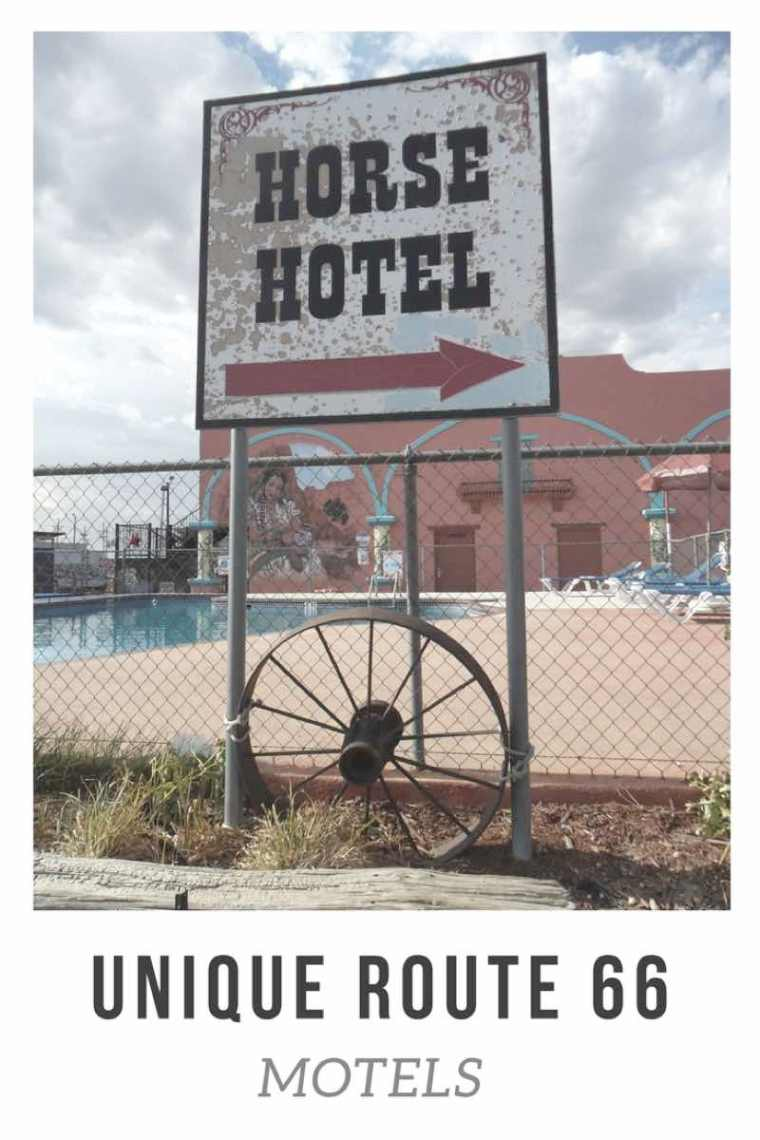 Unique Motels on Route 66. Check out these unique hotels along Route 66 for your next American Road Trip!