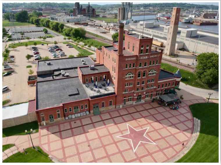 Dubuque Star Brewery and Shot Tower