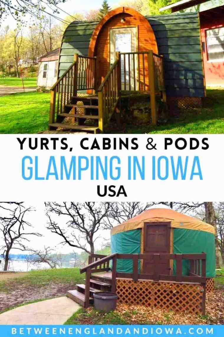 Glamping in Iowa USA